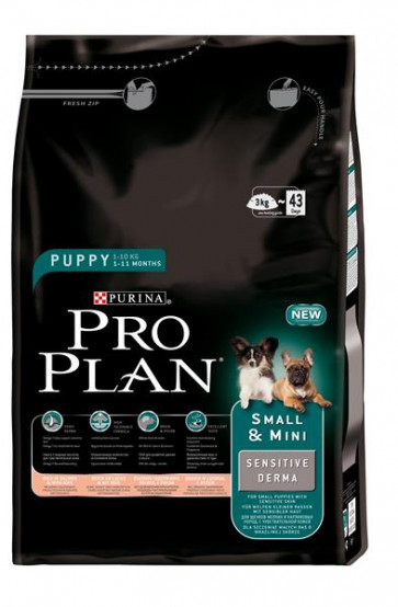 Pro Plan Puppy Small & Mini Sensitive Derma