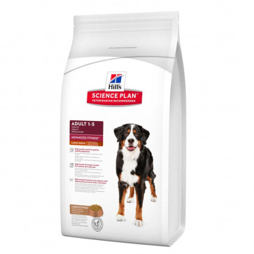 Hill's Science Plan Canine Adult Advanced Fitness Large Breed con Agnello e Riso 12 kg