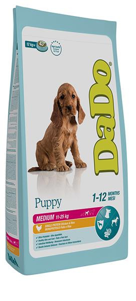 Dado Cane Puppy Medium con Pollo