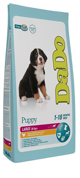 Dado Cane Puppy Large Breed con Pollo