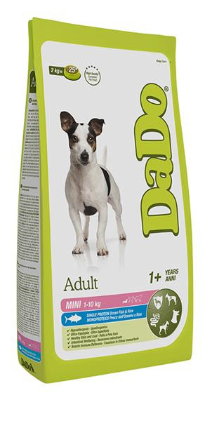 Dado Cane Adult Mini con Pesce