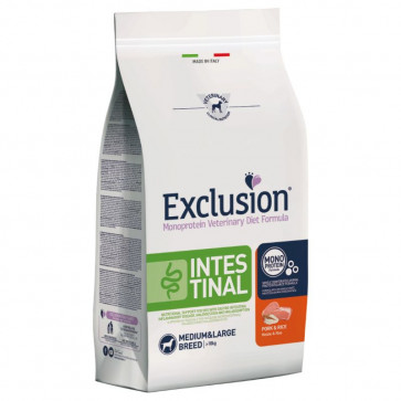 Exclusion Diet Intestinal Medium/Large con Maiale e Riso 2kg