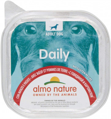 Almo Nature Cane Daily Menù Mousse Manzo e Patate 300GR
