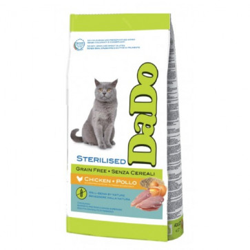Dado Gatto Adult Sterilised Grain Free Pollo
