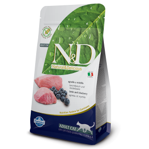 N&D gatto Agnello & Mirtillo 300gr