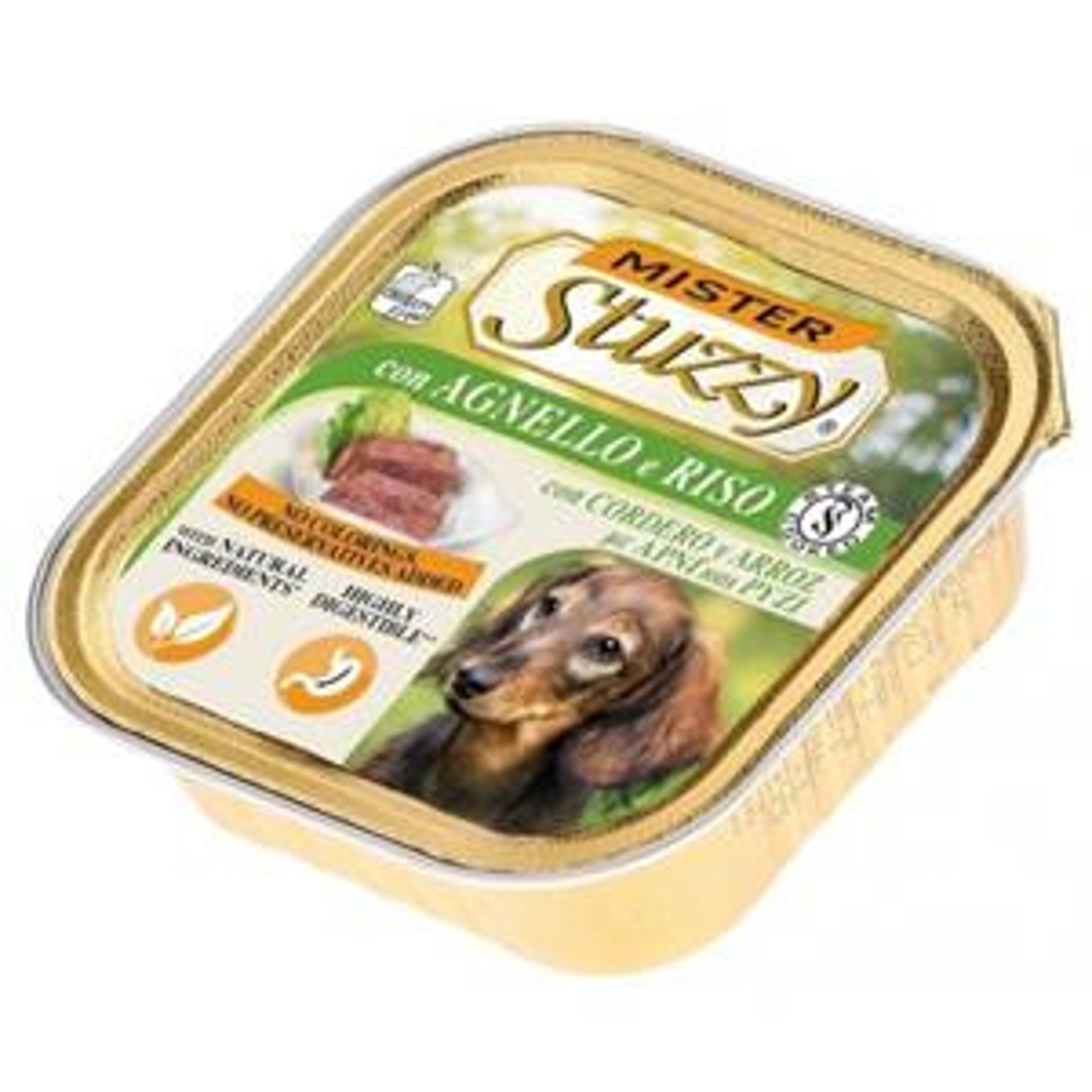 Mister Stuzzy Dog Umido Agnello e Riso 150gr