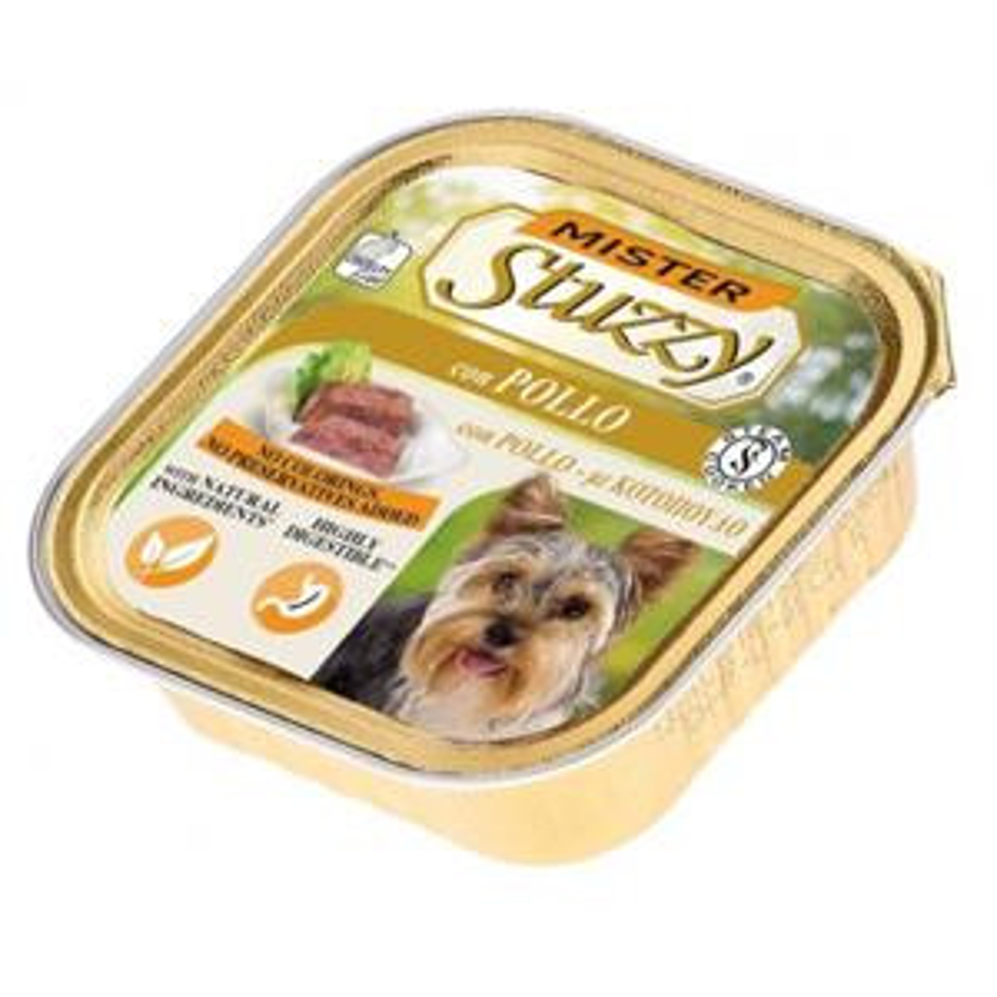 Mister Stuzzy Dog Umido Pollo 150gr