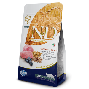 N&D Ancestral gatto Agnello & Mirtillo 300g