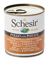 Schesir Dog Umido Pollo e Patate 285gr