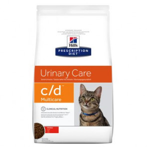 Hill's Prescription Diet Feline c/d Multicare Pollo