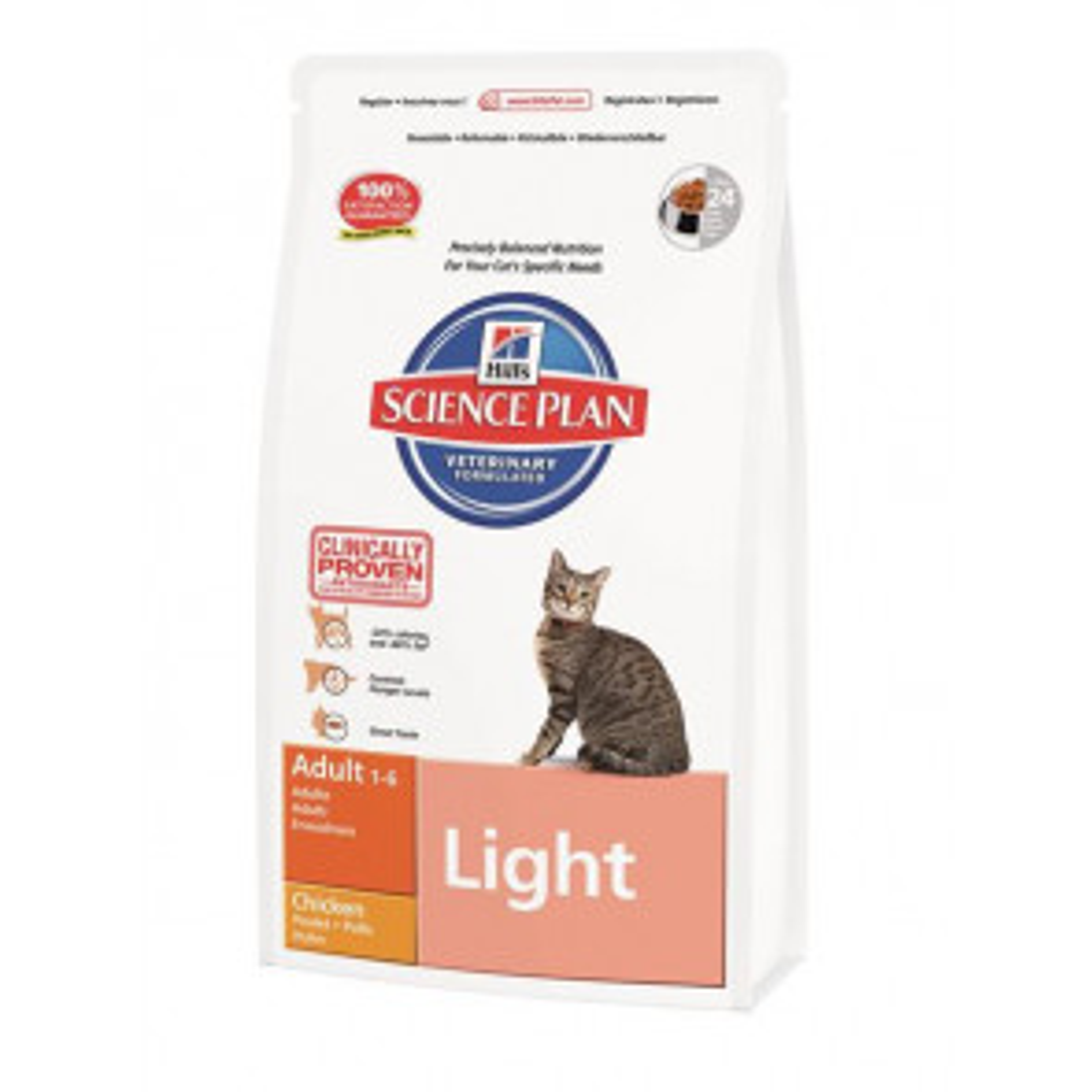 Hill's Science Plan Feline Adult Light Pollo
