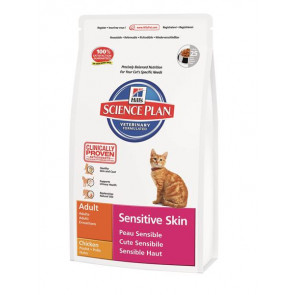 Hill's Science Plan Feline Sensitive Skin Adult Pollo 400 gr