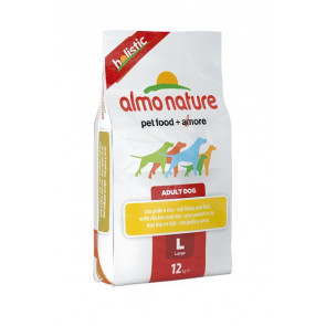 Almo Nature Cane Holistic Large con Pollo e Riso 12 kg