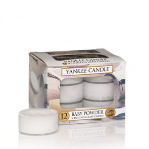 Yankee Candle Baby Powder Tea Light