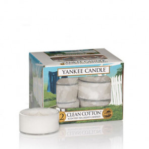 Yankee Candle Clean Cotton Tea Light
