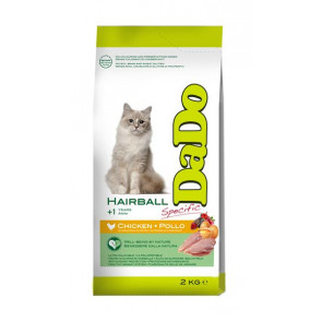 Dado Gatto Adult Hairball con Pollo