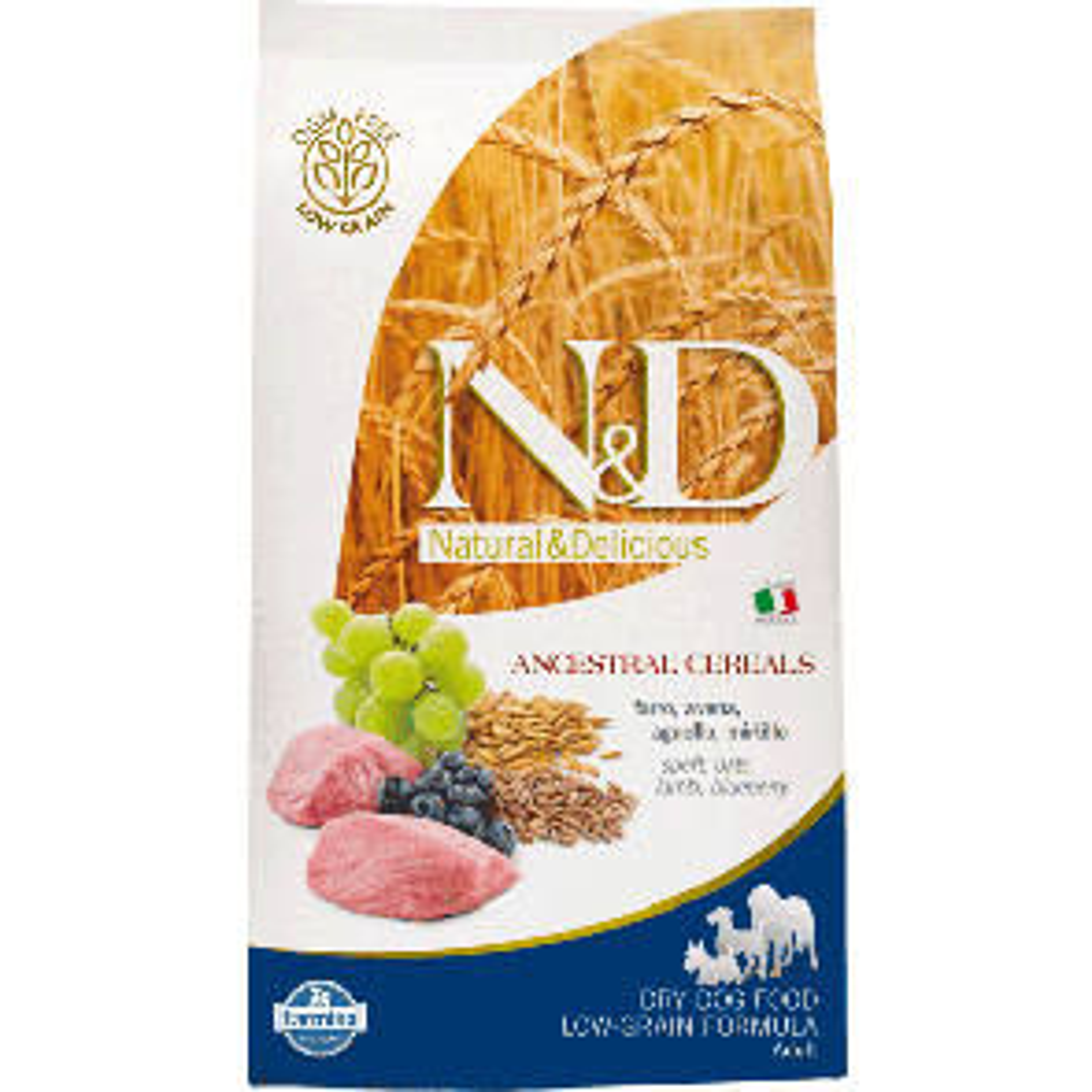 Farmina N&D Ancestral Adult Medium Agnello e Mirtillo 2,5kg