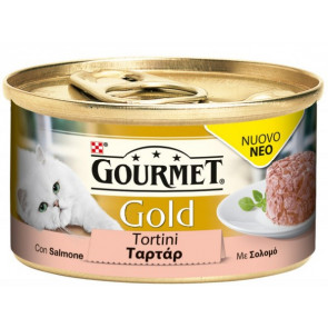 Gourmet Gold Tortino con Salmone 85gr
