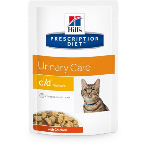 Hill's Prescription Diet Feline c/d Busta 85 gr Pollo e Salmone