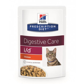 Hill's Prescription Diet Feline i/d Busta Pollo e Salmone 85 gr