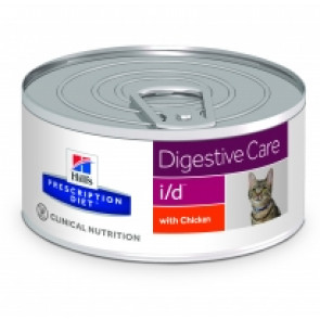 Hill's Prescription Diet Feline i/d Pollo Lattina