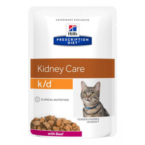 Hill's Prescription Diet Feline k/d Busta 85 gr