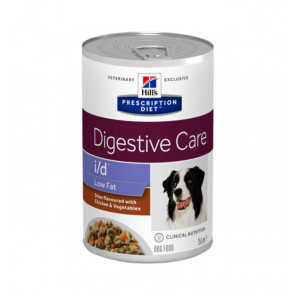 hills-prescription-diet-cane-id-low-fat-con-spezzatino-al-pollo-e-verdure-da-354-gr-in-lattina