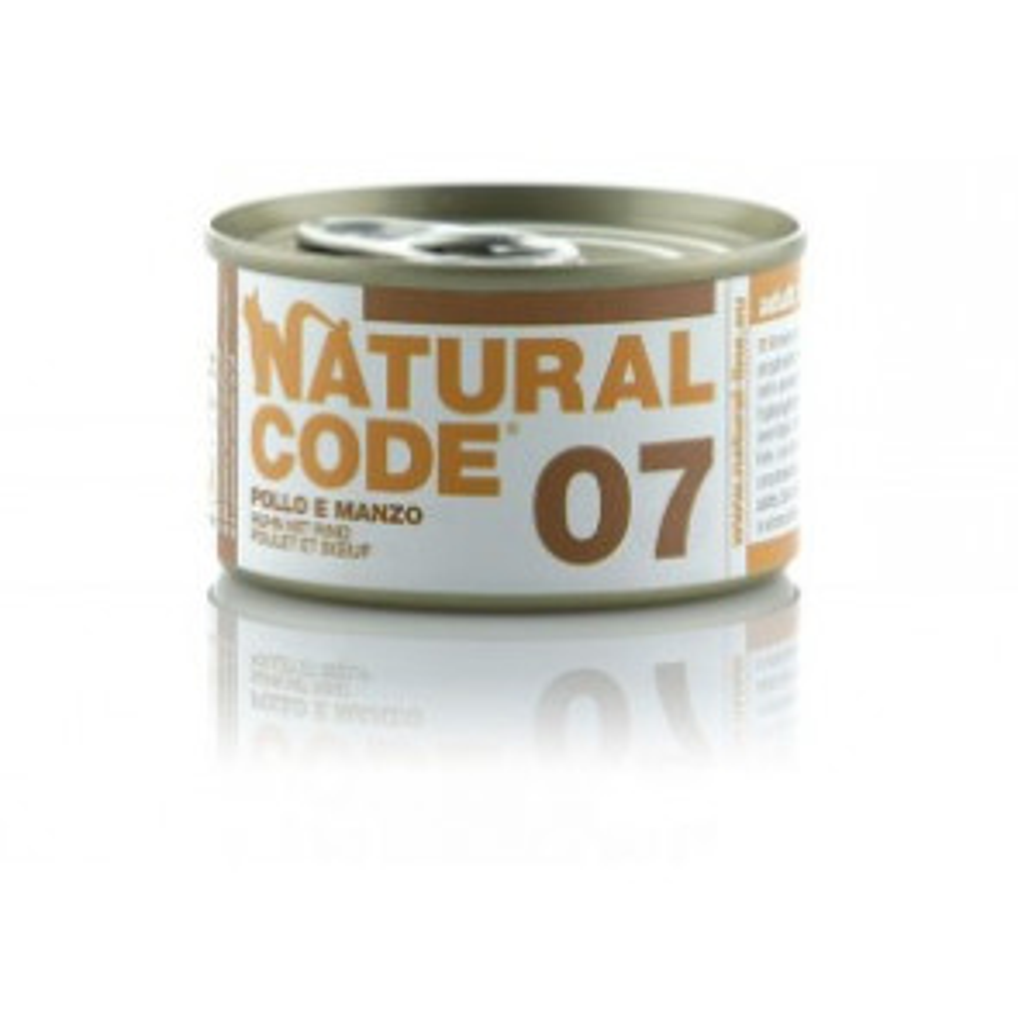 Natural Code Cat 07 Pollo e Manzo 85gr