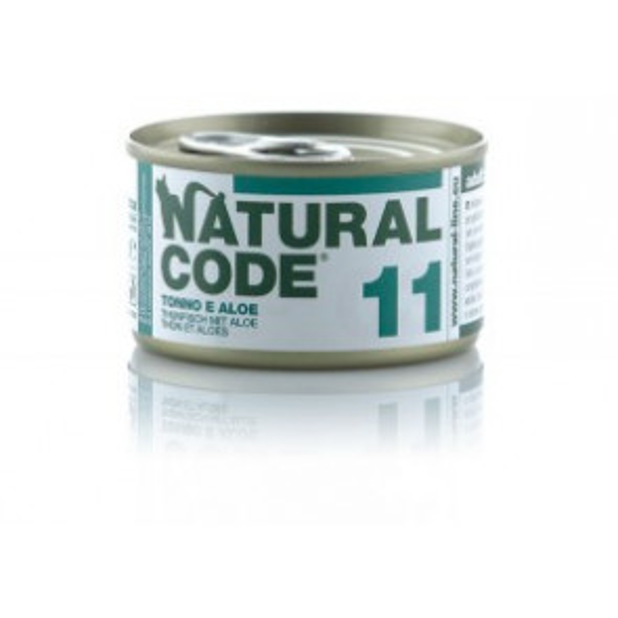 Natural Code Cat 11 Tonno e Aloe 85gr