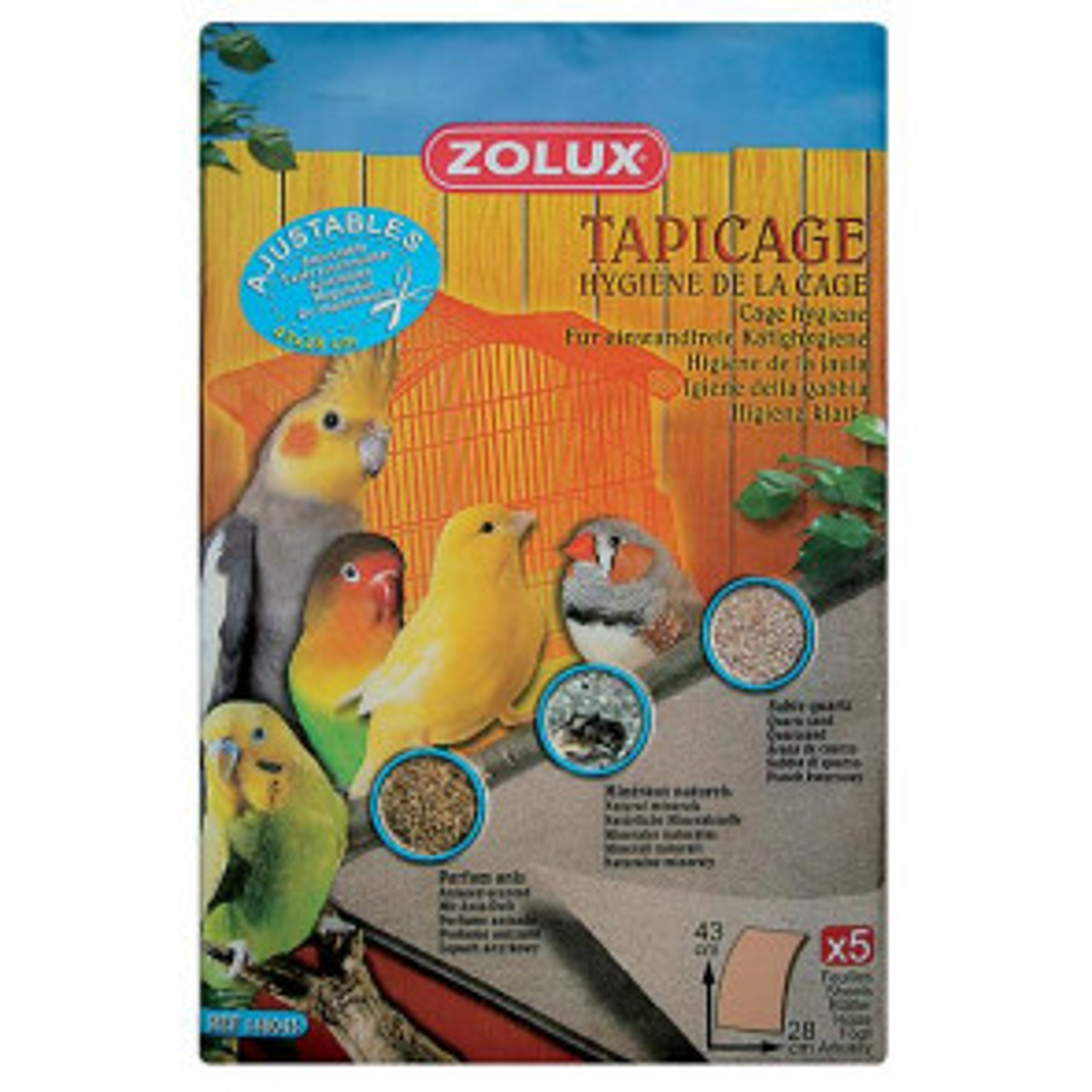 Zolux Tappeto Tapicage (43X28)