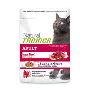 Trainer Natural Gatto Adult Manzo Busta 85gr