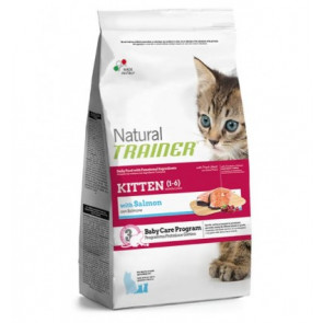 Trainer Natural Kitten Salmone  300gr