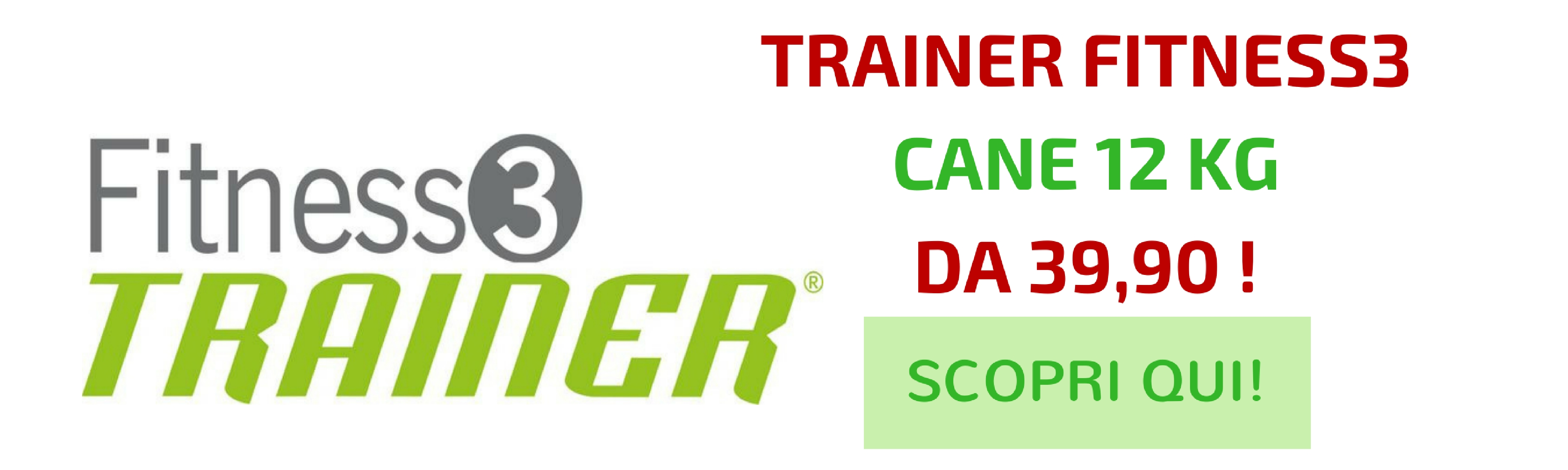 Trainer Fitness3 cane offerta